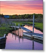 East Moriches Sunset Metal Print
