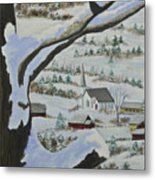 East Orange Vermont Metal Print