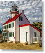 East Point Light -renovated Metal Print