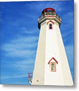 East Point Lightstation Prince Edward Island Metal Print