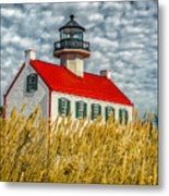 East Point On The Maurice River  Metal Print