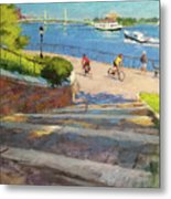 East River From Carl Schurz Park Metal Print