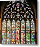 East Stained Glass Window Christ Church Cathedral 1 Metal Print