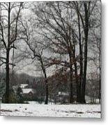 East Tennessee Winter Metal Print