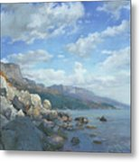 East View. A Seascape In The Vicinity Of Foros Mmxi Metal Print