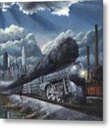 Eastbound Twentieth Century Limited Metal Print