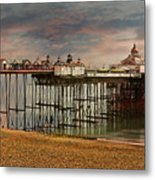 Eastbourne Pier Metal Print