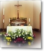 Easter Alter Metal Print