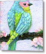 Easter Bird Metal Print