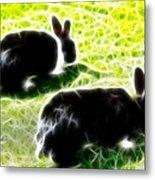Easter Bunny 1 Metal Print