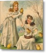 Easter Day  Metal Print