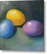 Easter Eggs No. 1 Metal Print