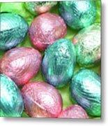 Easter Eggs Viii Metal Print