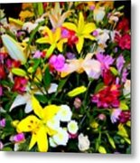 Easter Flowers Metal Print