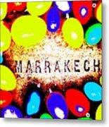 Easter In Marrakech Metal Print