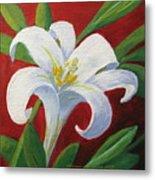 Easter Lily Metal Print