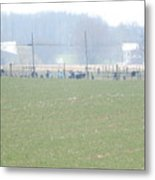 Easter Monday Amish Youth Gathering Metal Print