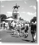 Easter On Monument Ave Metal Print