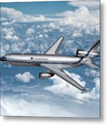 Eastern Air Lines Dc-10-30 Metal Print