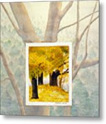 Eastern Autumn Metal Print