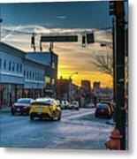 Eastern Avenue Sunset Metal Print