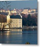 Eastern European Fishing Metal Print