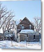 Eastern Montana Farmhouse Metal Print