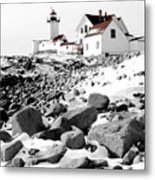 Eastern Point Light Metal Print