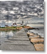 Eastern Point Lighthouse Metal Print