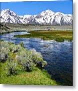 Eastern Sierra Mountains Metal Print