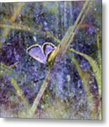 Eastern Tailed Blue Metal Print