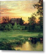 Easthampton Metal Print by Thomas Moran