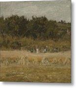 Eastman Johnson 1824 - 1906 Landscape Sketch Metal Print