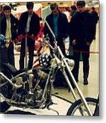 Easy Rider Bike Metal Print