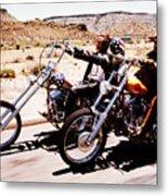 Easy Rider Photo Metal Print