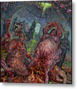 Eating The Stench Metal Print