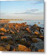 Ebb Tide On Cape Cod Bay Metal Print