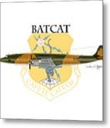 Ec-121r Batcatcavete Metal Print