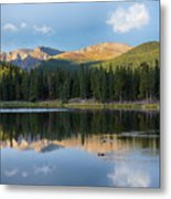 Echo Lake 6 Metal Print