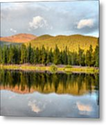 Echo Lake Painterly 1 Metal Print
