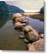 Echo Lake Sunset Metal Print by George Oze