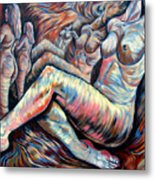 Echo Of A Nude Gesture II Metal Print
