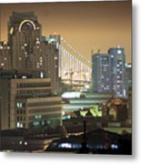 Echoes Of A City Metal Print