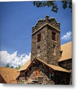 Eckert Colorado Presbyterian Church Metal Print