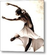 Eclectic Dancer Metal Print