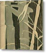 Eclipse Bamboo Metal Print