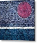 Eclipse Original Painting Metal Print