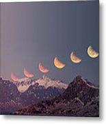 Eclipse Panorama Metal Print