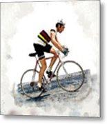 Eddie Merckx #2 Metal Print