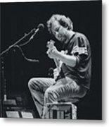 Eddie Vedder Playing Live Metal Print